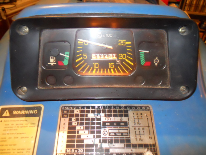 ford 3000 instrument panel   tractor forum  tractor forum