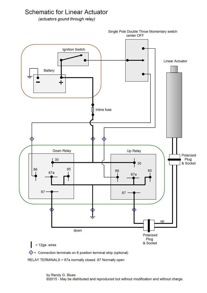 Linear Actuator Wiring Tractor Forum