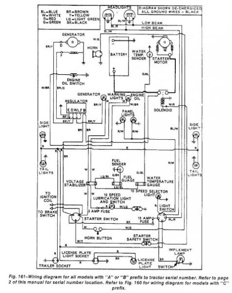 elctrial diagram for a ford 3000 1970 diesel lucas 5 inch starter | Tractor  ForumTractor Forum