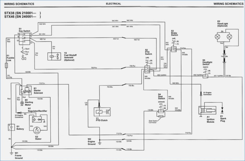 ignition wiring diagram for stx38 | Tractor ForumTractor Forum